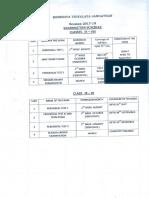 8. Exam Schedule 2017-18