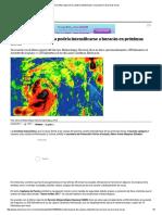 Tormenta Tropical Dora Podría Intensificarse a Huracán en Próximas Horas