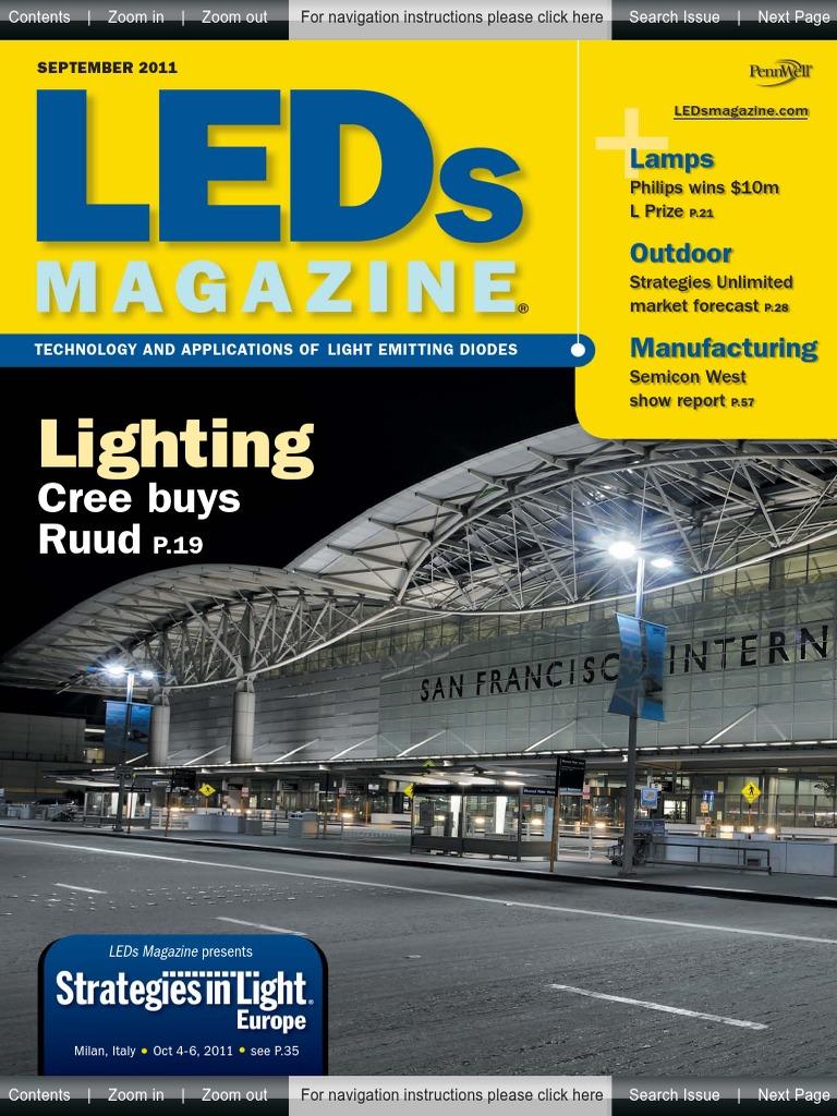 Ledsmagazine Set2011pdf Philips Light Emitting Diode Dimmable 20w Offline Led Driver Using The Lt3799circuit Diagram World