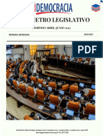 Barómetro Legislativo Trimestral Abril Junio 2016
