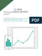 DeviceAtlas Mobile Web Intelligence Report Q1 2017
