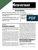 Revista CEMenstrual Agosto 2010