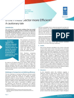 GCPSE Efficiency Summary