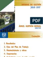 Tercer Informe de Gestión 2017 Resumen