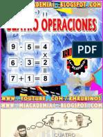 CUATRO OPERACIONES