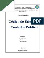 Código de Ética Del Contador Publico Ifac