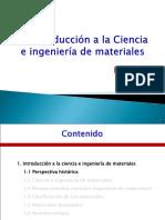 Unidad I - Introducción a La Ciencia e Ingeniería de Materiales-2017