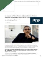 Las leyendas de _Cien años de soledad_, entre ellas el misterio de por qué García Márquez nunca regresó a Buenos Aires - BBC Mundo.pdf