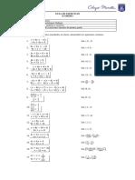 Gui de Ejercicios Sistema de Ecuaciones Lineales