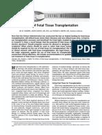Ethics of Fetal tissue Transplantation