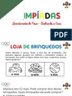 Olimpíadas - 2º Ano
