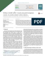 Ecarnot Et Al Writing a Scientifi Paper