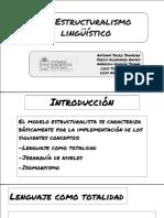Estructuralismo lingüístico