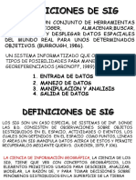 Introducción y Conceptos Básicos SIG