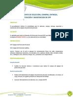 PROCEDIMIENTO DE SELECCIÓN, COMPRA, ENTREGA, .docx
