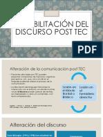 Rehabilitación Del Discurso Post TEC