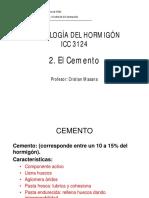 C.2.1 El Cemento