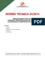 Nt 24 2014 Armazenamento Em Silos Unidades Armazenadores de Cereais Oleaginosas e Subprodutos a Granel