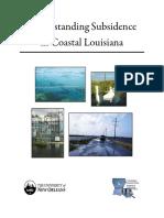 Understanding Subsidence in Coastal Louisiana (Reedetal2009)