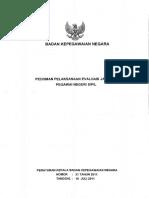 20perka Bkn Nomor 21 Tahun 2011 Pedoman Pelaksanaan Evaluasi Jabatan Pns