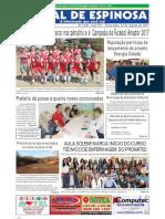 Jornal Espinosa 15/08/2017