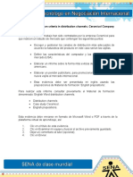 Evidencia 10 Selection criteria in distribution channels; Ceramicol Company.doc