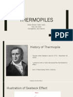 Thermopiles Report