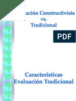 Avaluacio Constructivista vs Tradicional