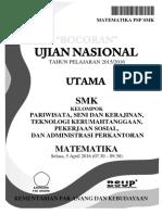 Bocoran Soal UN Matematika SMK PSP 2016 [Pak-Anang.blogspot.com]-1