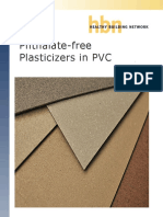 Phthalate Free Plasticizers in Pvc