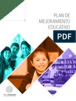 Orientaciones Para El Plan de Mejoramiento Educativo 2017