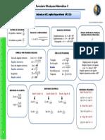 Formulario Matemáticas II (Parte 1) (1)