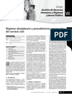 Regimen Disciplinario y Procedimiento Sancionador Del Servicio Civil-directiva 02-2015