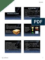 UNIDAD III -Estructura de Control y Expresiones