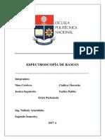 Espectroscopìa de Raman