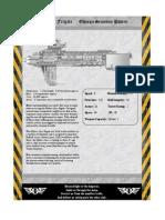 Rogue Trader Mabus Frigate Data Sheet