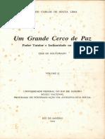LIMA, Antonio Carlos de Souza - Um Grande Cerco de Paz poder tutelar e indianidade no Brasil.pdf