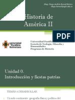 Cronograma de Sesiones y Temas Artículos Historia América II
