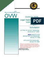 ovwfy2006legalassistanceforvictimssolicitation