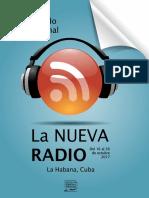 Convocatoria Curso de Posgrado La Nueva Radio_2017 - Instituto Internacional de Periodismo José Martí
