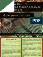 Guia Para Usuarios UMG 2013