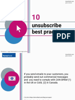 10 Unsubscribe Best Practices