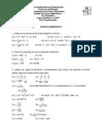Ejercicios de Matematica I Guia IV