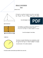 Areas y Volumenes Figuras Geometricas