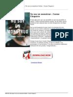 descargar-no-soy-un-monstruo-carme-chaparro-Online.pdf
