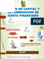 Exposicion de Costo de Capital