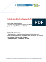 López de Asiain - Estrategias Bioclimáticas en La Arquitectura