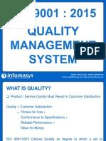 ISO 9001-2015 Presentation - Infomasys