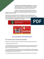 Persyaratan Dan Tata Cara Pendaftaran CPNS Sipir Kemenkumham