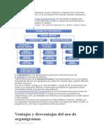 resumen Organigrama